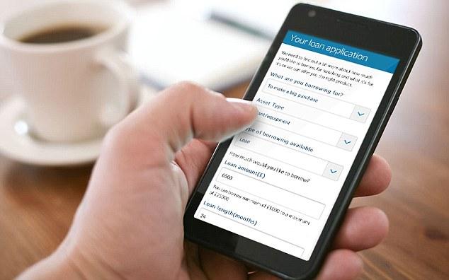 Låna via mobila appar—den nya trenden